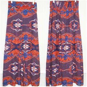 TRUTH NYC | Tribal Print Wide Leg Palazzo Pants